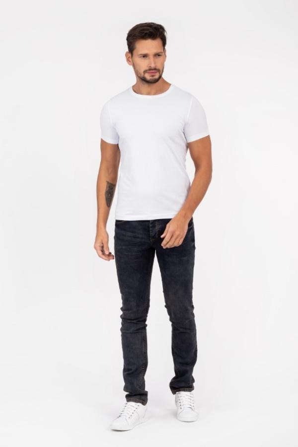 Tshirt męski biały online
